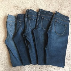 Old Navy Original Fit Women's Jeans - 5 Pairs